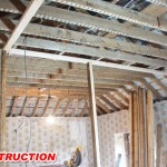 ceiling renovation construction