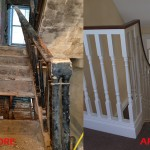conservation renovation stairway